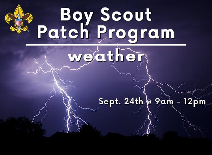 Boy Scout Merit Badge Program – Weather