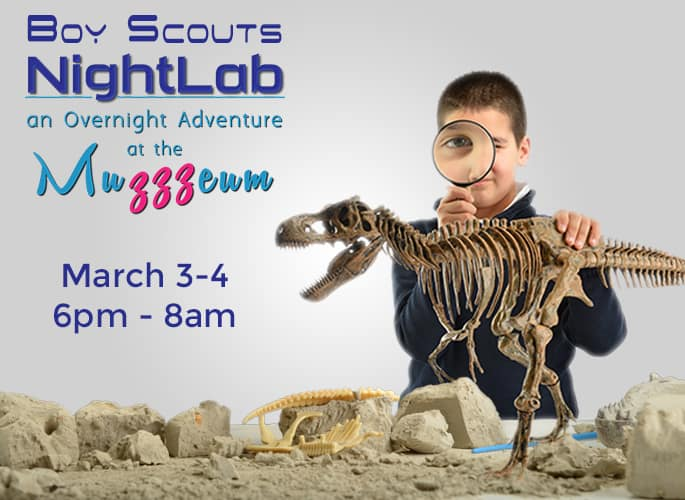 Boy Scout Overnight – Dinosaurs!