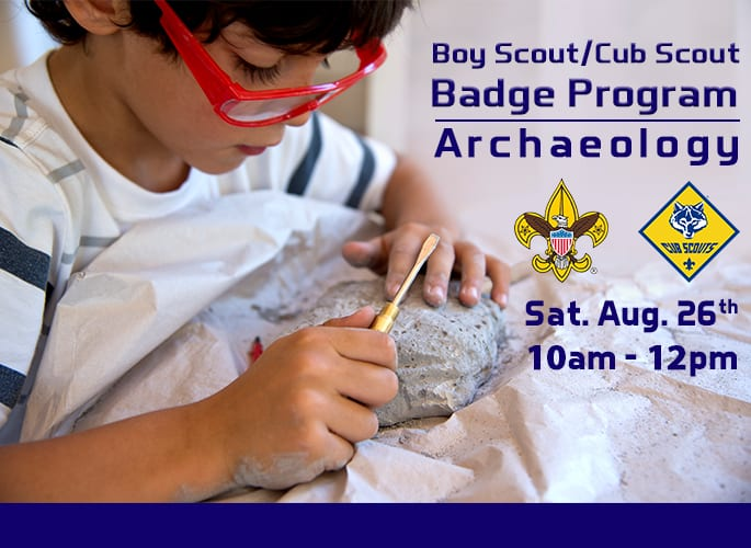 Boy Scouts/Cub Scouts- Archaeology