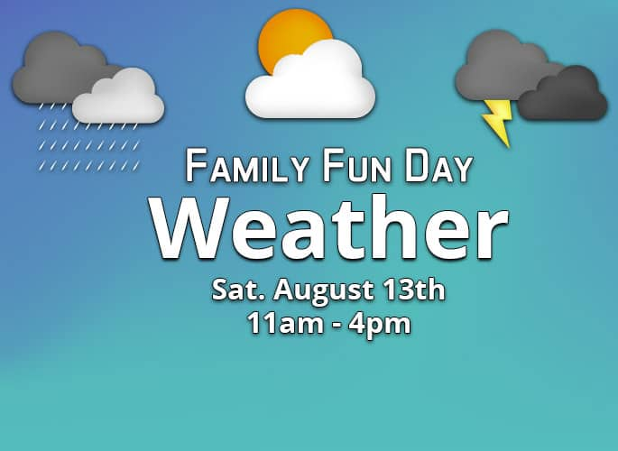 Family Fun Day  – Weather