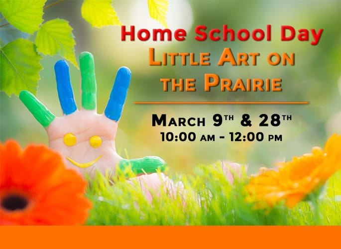 Home School Day – Little Art on the Prairie