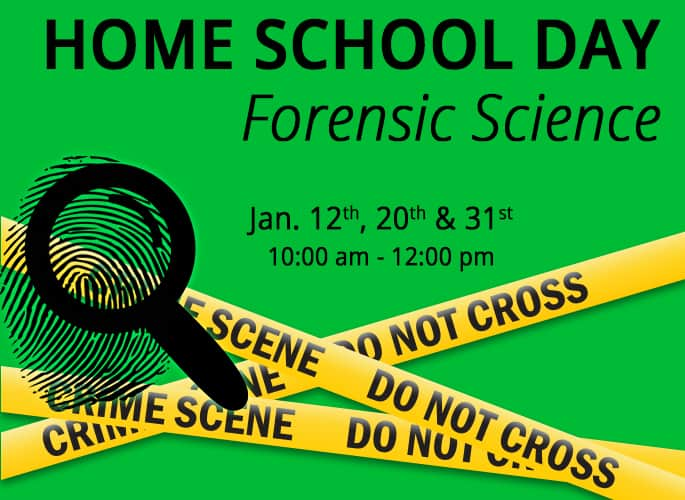 Home School Day – Forensic Science