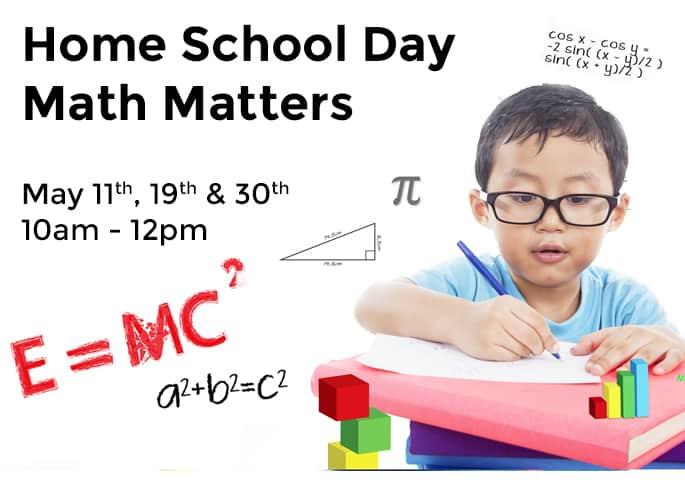 Home School Day – Math Matters