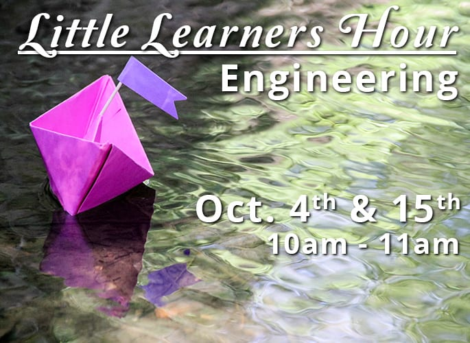 Little Learners Hour – Engineering